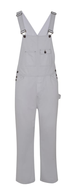 Dungarees, £65, by Topman.