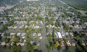 Flooding caused by Hurricane Harvey, southeast Texas 31 August 2017.
