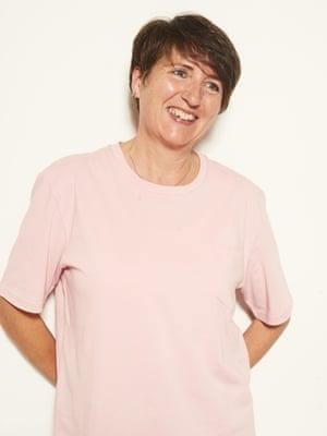 Shelley Tomlinson, 58, RetiredPink t-shirt, £22
