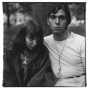 Girl and boy, Washington Square Park, N.Y.C. 1965
