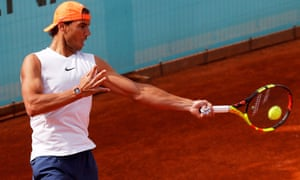 Rafael Nadal faces a tough match in the third round of the Madrid Open against Félix Auger-Aliassime.