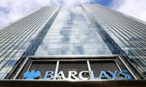 Barclays bank headquarters in Canary Wharf, London.