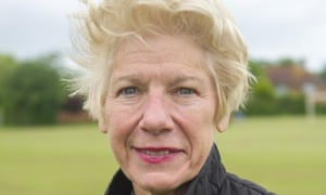 Nancy Bikson was a last-minute replacement for the Conservatives' candidate for Lewes, Maria Caulfield.