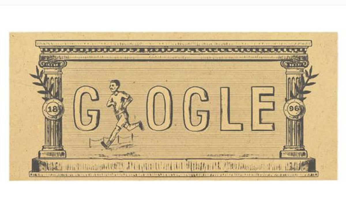 120th anniversary of first modern Olympic Games marked by Google Doodle 575