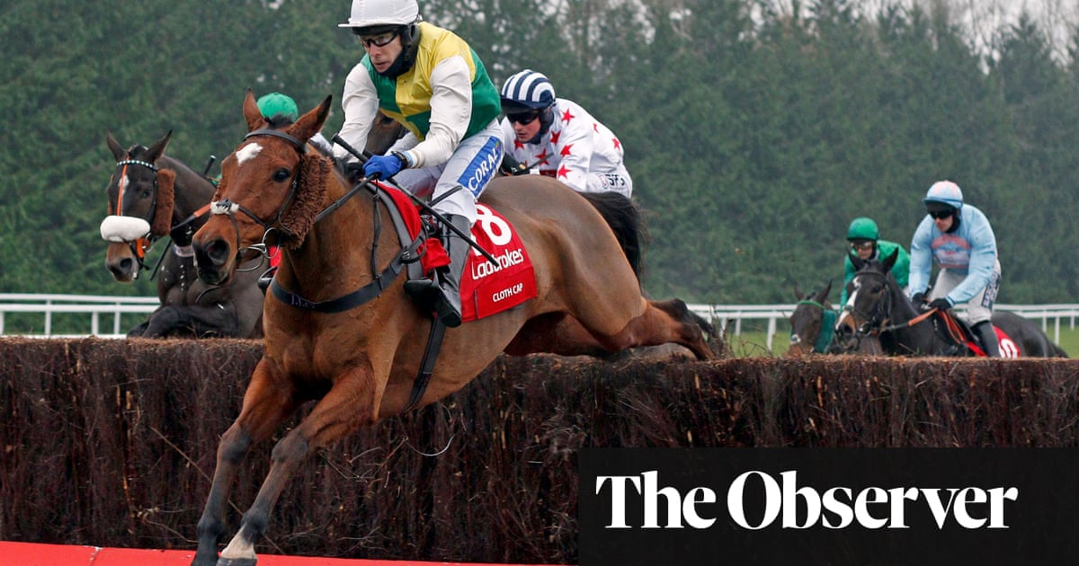 Cloth Cap fits for Jonjo ONeill to win Ladbrokes Trophy at Newbury