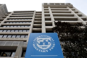 The International Monetary Fund (IMF) headquarters in Washington.