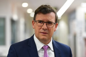 The acting immigration minister, Alan Tudge.