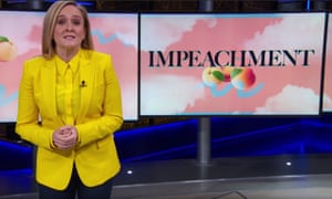 """Samantha Bee on the Senate impeachment trial: """"The only thing standing between us and justice is 53 Republican Senators and the reality that this entire process is doomed — let's get hopeless!"""""""