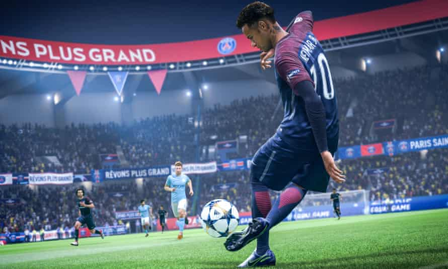Gameplay from Fifa 19