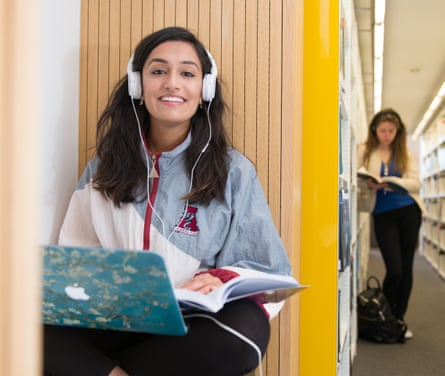 Ashvita Sudhakar Digital Design Clearing Student in BJL Library