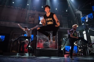 Cast of Australian production of American Idiot