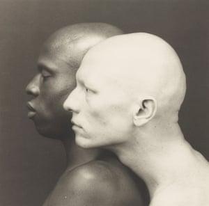 'Ken Moody and Robert Sherman' 1984 platinum photograph