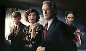 Cast members (from left) Luke Treadaway, Anna Chancellor, Bill Nighy and Morven Christie.