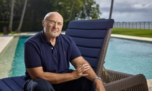 Genesis of a legend: Phil Collins at home in Miami, Florida.
