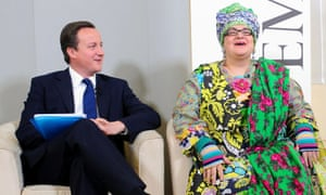 Kids Company founder Camila Batmanghelidjh, pictured with David Cameron in 2010.