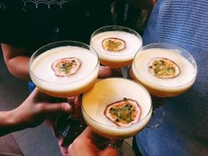 Four cocktails