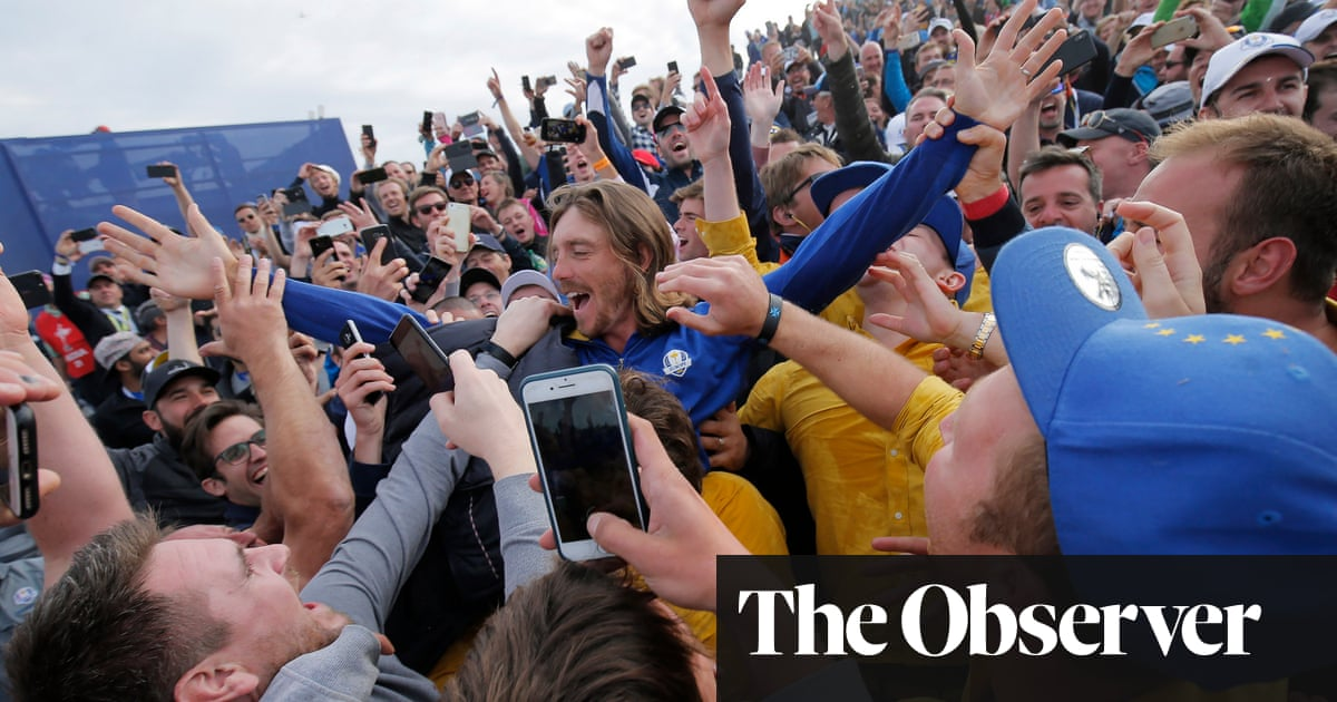 Tommy Fleetwood: Ryder Cup without fans would be kind of sad