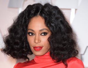 Brow icon Solange Knowles.