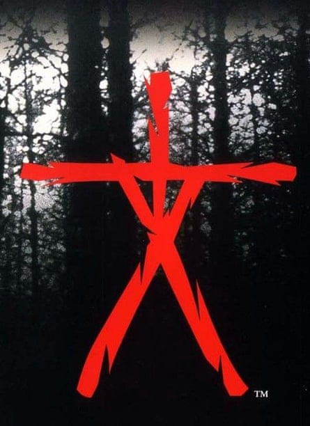 'I had this idea of a stick figure hanging from a tree' … the Blair Witch stick figure symbol