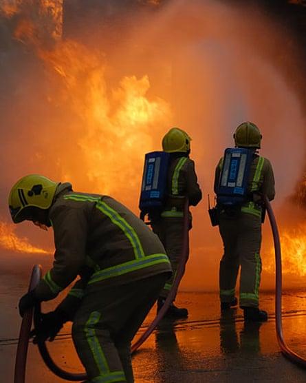 Firefighters in Scotland
