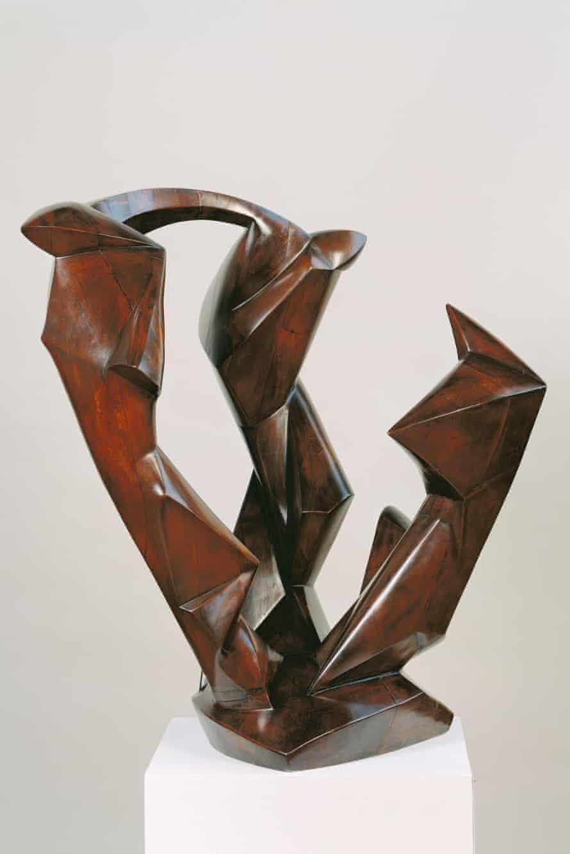 Dreiklang by Rudolf Belling (1924)
