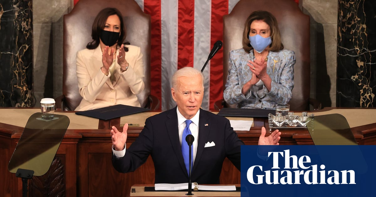 America 'on the move again' as Biden lays out sweeping agenda