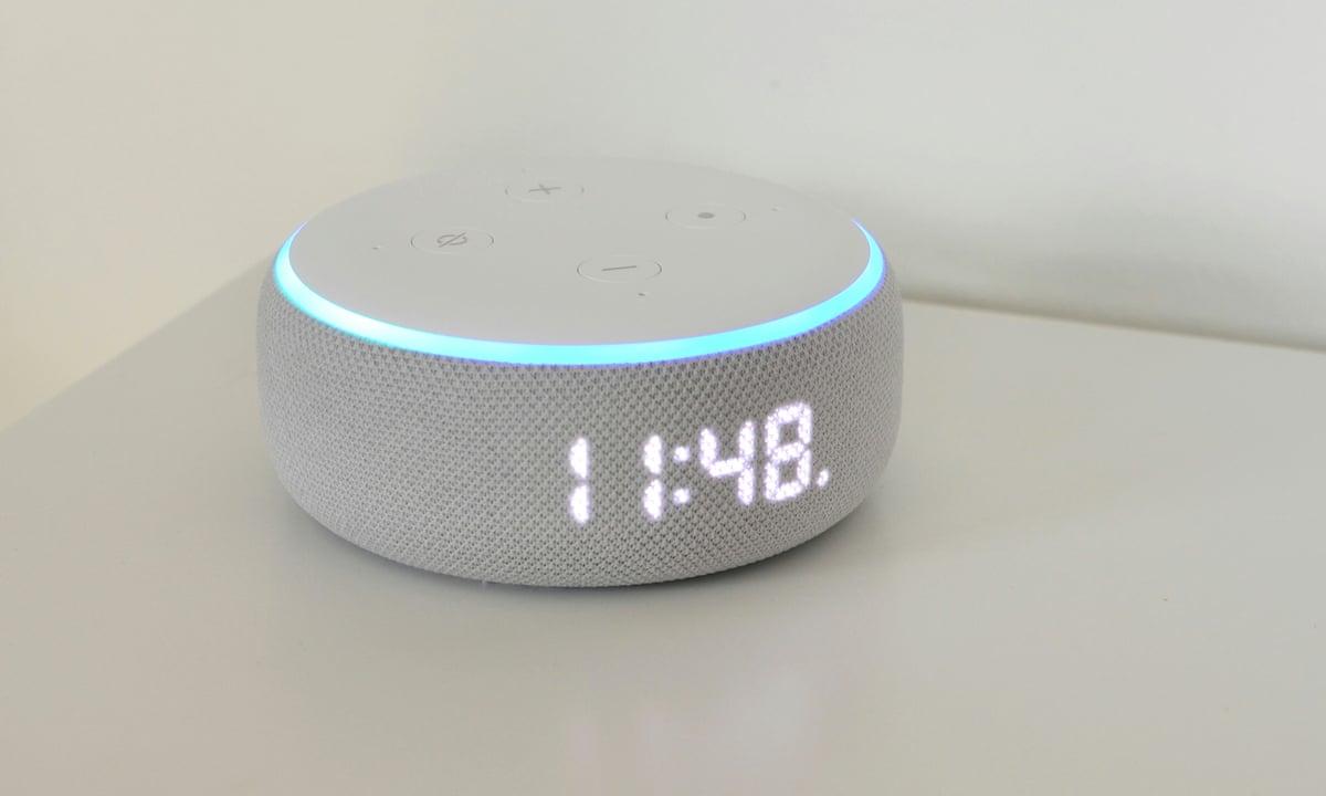 Echo Dot with Clock: Amazon's cheap Alexa alarm clock replacement | Amazon  Alexa | The Guardian