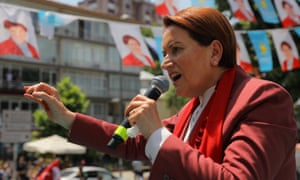 Meral Aksener, the leader of a new nationalist party in Turkey