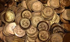 A pile of bitcoin slugs