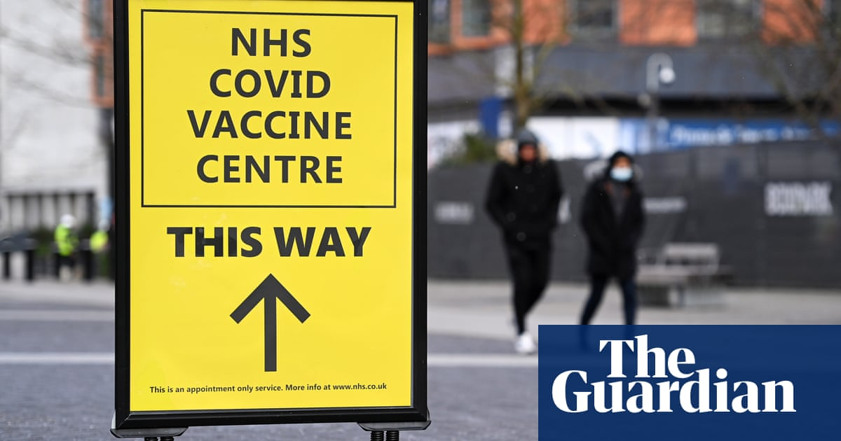 Covid deaths in England and Wales falling fastest among people over 80