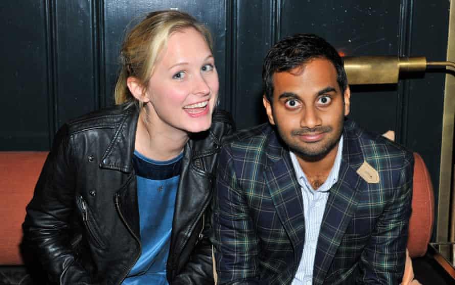Aziz Ansari with his girlfriend the chef Courtney McBroom.