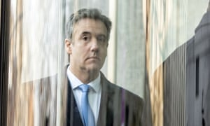 Michael Cohen arrives at US Federal Court in New York earlier this month.