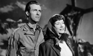 Valentina Cortese and Michael Denison in The Glass Mountain, 1948.