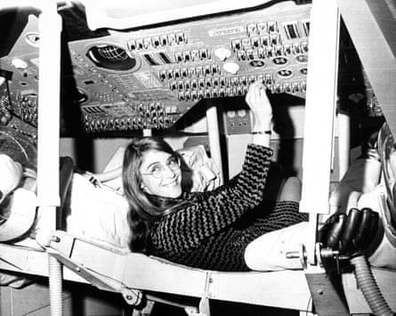Margaret Hamilton became the lead programmer on the groundbreaking Apollo guidance computer. 'If you look at photos of the engineers back then, you can hardly find a woman in there.'
