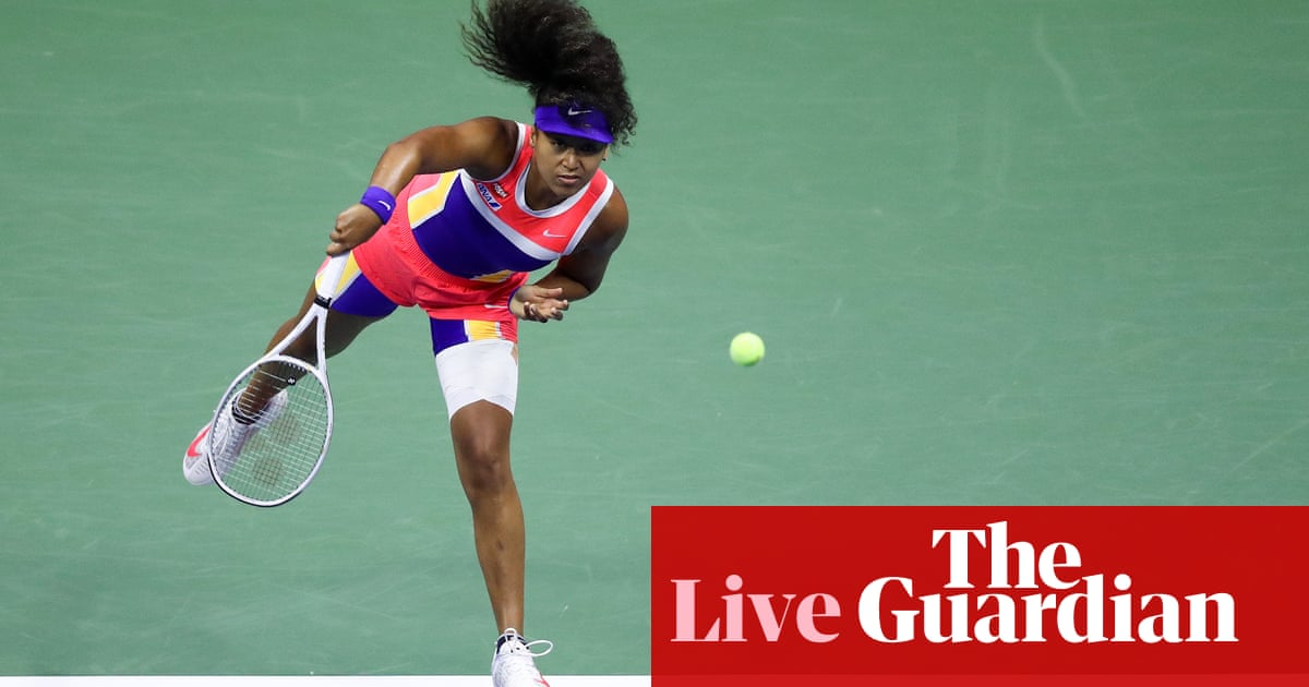 US Open women's semi-final: Jennifer Brady v Naomi Osaka – live! – The Guardian