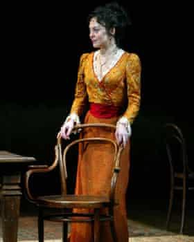"""Helen McCrory performs as """"Yelena"""" in Uncle Vanya."""