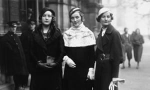Unity, Diana and Nancy Mitford
