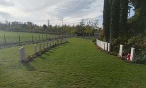 The first world war cemetery in Mons, Belgium.