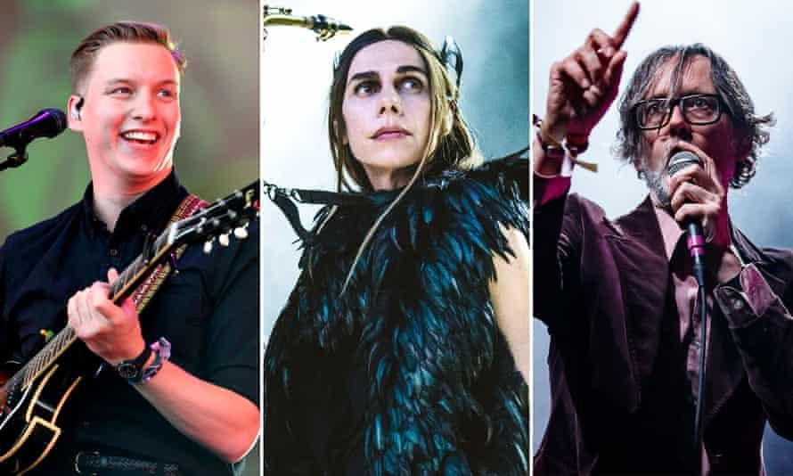 George Ezra, PJ Harvey, Jarvis Cocker
