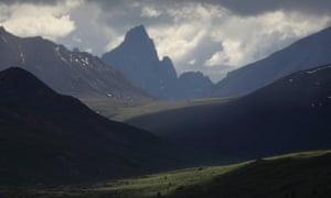 Tombstone peak