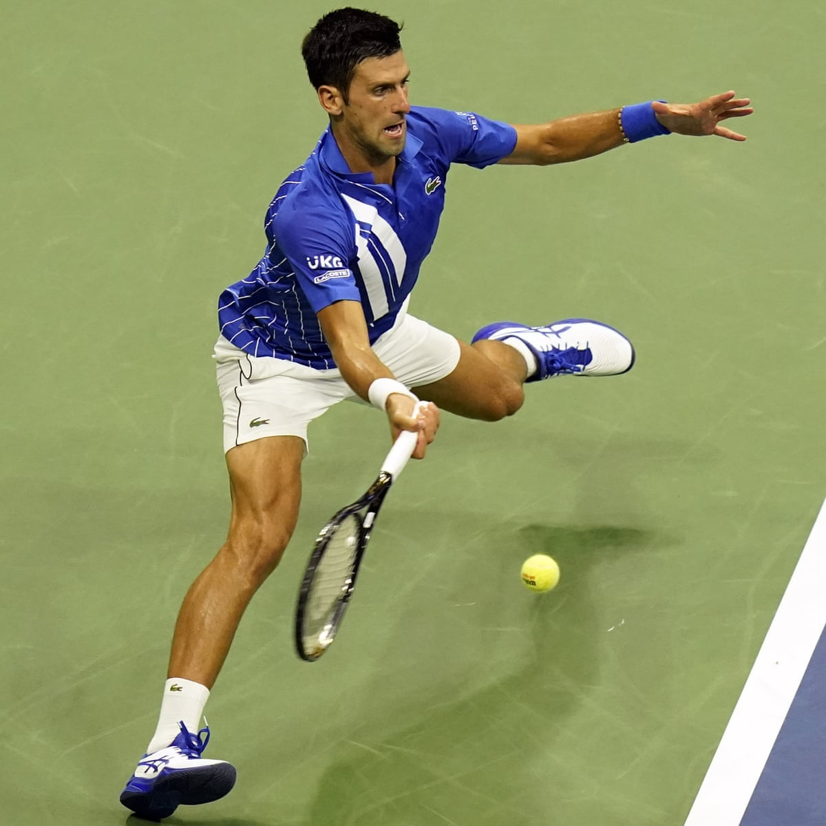 Novak Djokovic Gets Off To Flier To Set Up Clash With Kyle Edmund At Us Open Us Open Tennis The Guardian