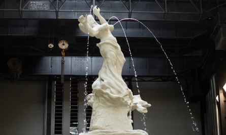 Sardonic … Fons Americanus by Kara Walker at Tate Modern.