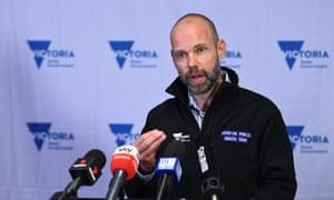 Jeroen Weimar speaks to the media in Melbourne on Saturday