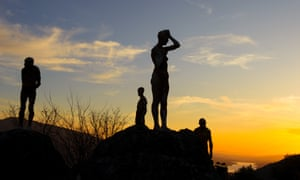 Francisco Cedenilla's statues representing victims of Franco's regime.