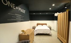 Made.com's showroom in Paris