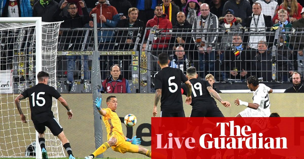 Argentina v Germany: international football friendly – live!