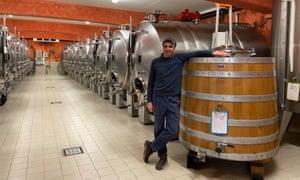 Jean-François Bordet, chablis winemaker.