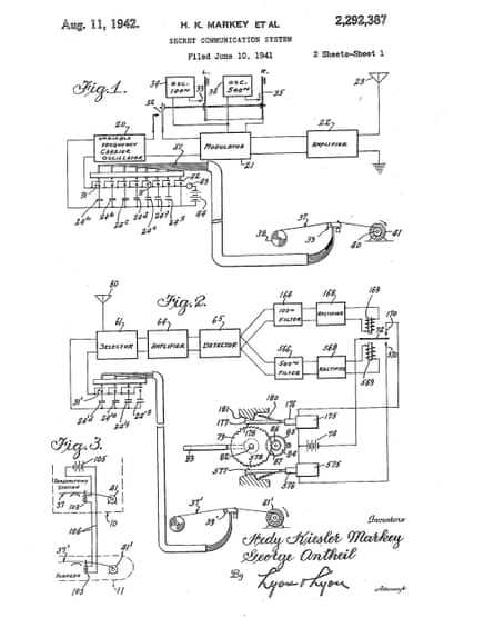 Lamarr?s patent, filed in 1941