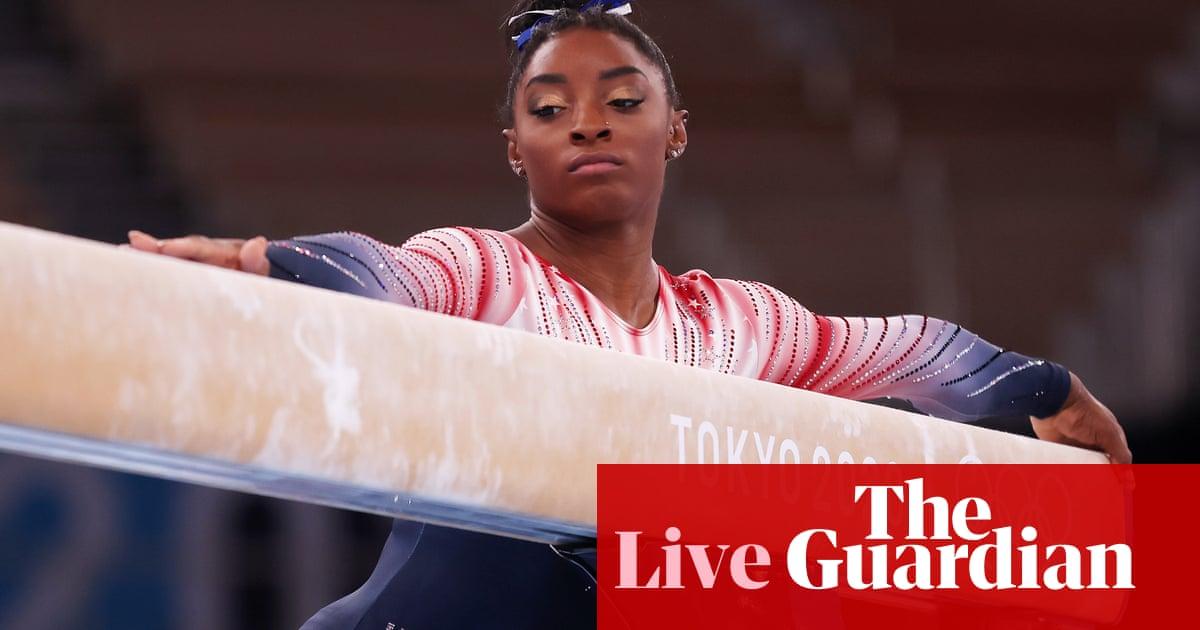 Tokyo Olympics 2020 gymnastics: Simone Biles returns in women's balance beam final – live!