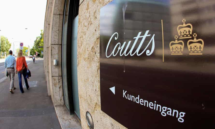 A Coutts bank in Zurich